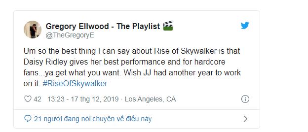 Phản ứng sớm về Star Wars: The Rise Of Skywalker: Cảm động, hoành tráng, là một cái kết trọn vẹn cho gia đình Skywalker - Ảnh 10.