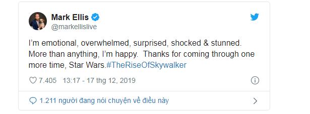 Phản ứng sớm về Star Wars: The Rise Of Skywalker: Cảm động, hoành tráng, là một cái kết trọn vẹn cho gia đình Skywalker - Ảnh 12.