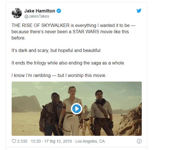 Phản ứng sớm về Star Wars: The Rise Of Skywalker: Cảm động, hoành tráng, là một cái kết trọn vẹn cho gia đình Skywalker - Ảnh 9.