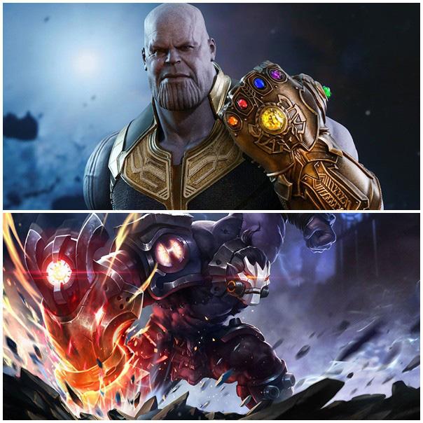 Liên Quân Mobile: Cộng đồng nghi vấn... Thanos được mua bản quyền để trở thành skin Skud - Ảnh 1.