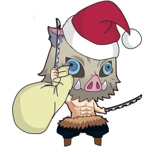 Hòa cùng không khí Noel, dàn nhân vật trong Kimetsu no Yaiba diện trang phục Giáng Sinh cực yêu - Ảnh 17.