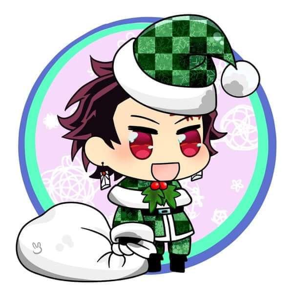 Hòa cùng không khí Noel, dàn nhân vật trong Kimetsu no Yaiba diện trang phục Giáng Sinh cực yêu - Ảnh 1.