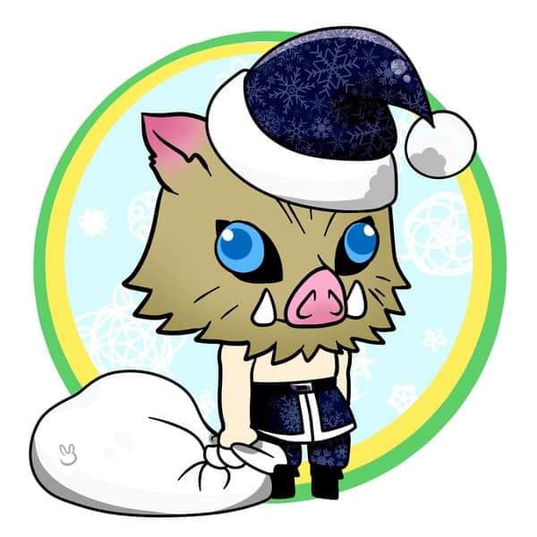 Hòa cùng không khí Noel, dàn nhân vật trong Kimetsu no Yaiba diện trang phục Giáng Sinh cực yêu - Ảnh 6.