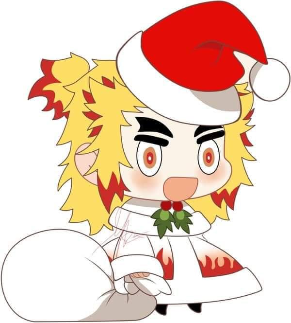 Hòa cùng không khí Noel, dàn nhân vật trong Kimetsu no Yaiba diện trang phục Giáng Sinh cực yêu - Ảnh 10.
