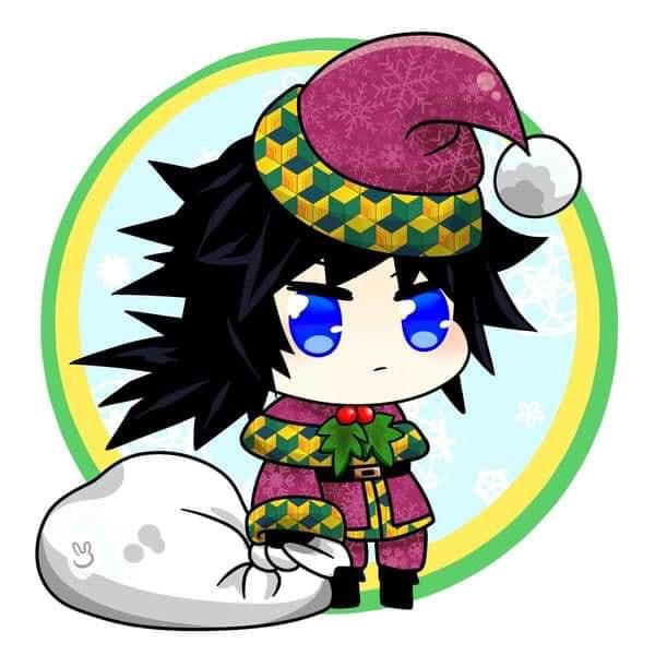 Hòa cùng không khí Noel, dàn nhân vật trong Kimetsu no Yaiba diện trang phục Giáng Sinh cực yêu - Ảnh 7.