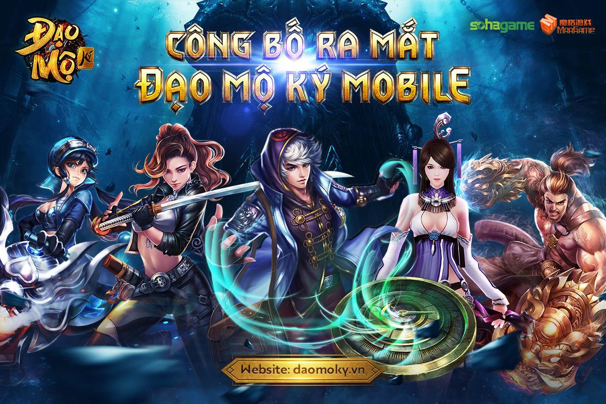 Bom tấn nhập vai thế giới mở Đạo Mộ Ký Mobile chuẩn bị họp báo ra mắt tại TP.HCM ngày 28/12 - Ảnh 2.