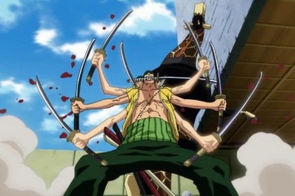 One Piece: Roronoa Zoro và 5 nhân vật có khả năng sử dụng nhiều thanh kiếm cùng một lúc - Ảnh 1.