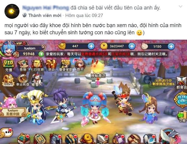 Thực sự nể: Toát mồ hôi hột ở server Việt, cộng đồng Tiểu Tiểu Tam Quốc Chí vẫn mò mẫm server Trung để test meta dù... 1 chữ bẻ đôi không biết - Ảnh 3.