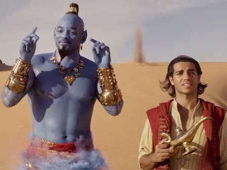 Aladdin: Không lom dom như dân tình tưởng, Thần Đèn Will Smith nhìn cũng khá bảnh đấy chứ - Ảnh 5.