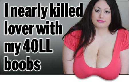 Những tai nạn đáng tiếc từng xảy ra vì các bộ ngực quá khổ (P.1) - Ảnh 1.