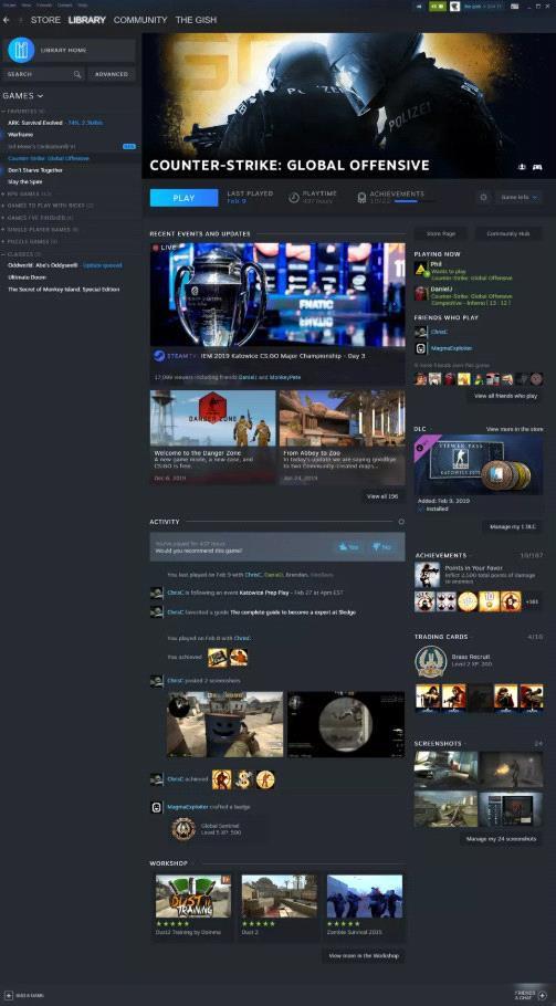 Lộ diện hình ảnh mới của Steam: Siêu đẹp, siêu chất - Ảnh 2.