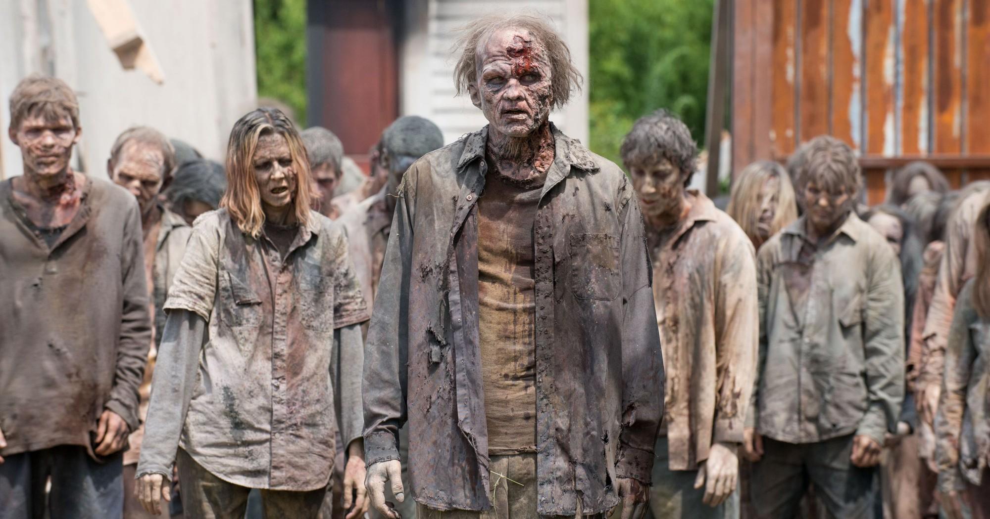 Những hình ảnh của zombie xuất hiện trong cuộc sống