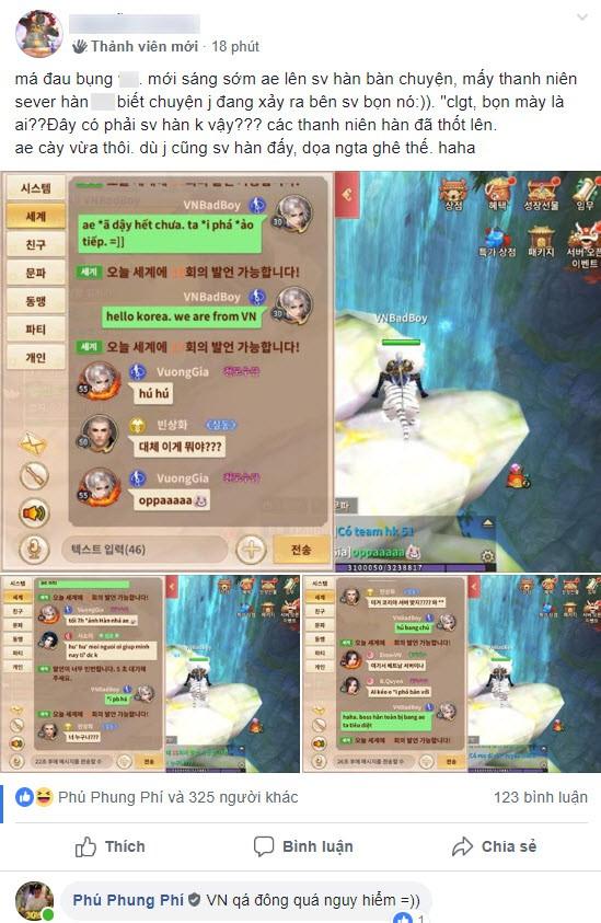 """500 anh em Việt Nam quá đáng đến mức, game thủ Hàn cũng phải ngơ ngác trong chính server của mình: """"Mấy người là ai? Woa điên rồ thật!!"""" - Ảnh 15."""