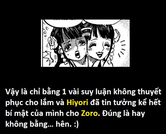 Góc soi mói One Piece 939: Hé lộ lý do Hiyori không du hành thời gian cùng anh trai và người cứu cô là một người cá? - Ảnh 1.