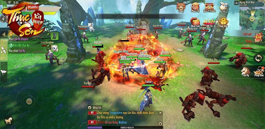 SohaGame tham vọng dẫn đầu thị trường game online Việt Nam năm 2019 với Thục Sơn Kỳ Hiệp Mobile - Ảnh 10.