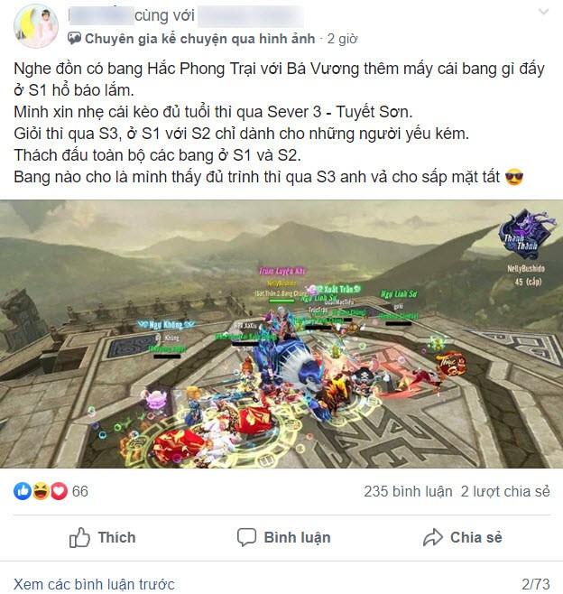 Drama rúng động làng game: Đại gia thách thức tất cả 2 server đầu, khoe tài khoản 1 tỷ và sự nổi dậy như quái vật của các bang S1-S2 - Ảnh 3.
