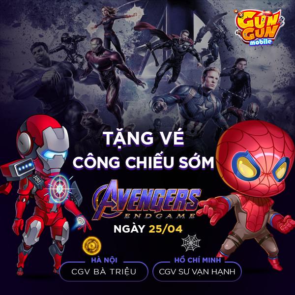 Cơ hội cuối cùng để nhận FREE cặp vé xem Avengers: Endgame vào tối mai, bạn đã đăng ký chưa? - Ảnh 1.