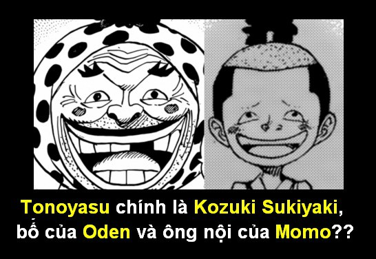 One Piece: Ông lão Yasu hay cười có thể chính là cha của Kozuki Oden và là ông nội của Momonosuke? - Ảnh 2.