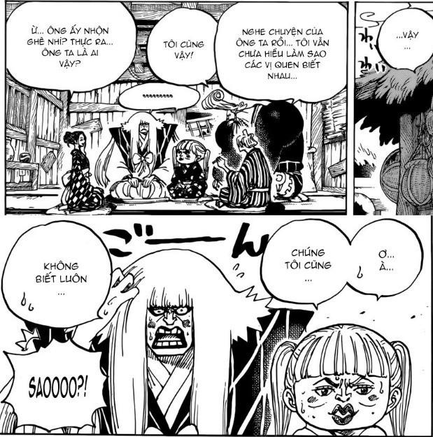 One Piece: Ông lão Yasu hay cười có thể chính là cha của Kozuki Oden và là ông nội của Momonosuke? - Ảnh 1.