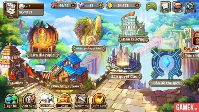 Không hổ danh game thẻ tướng tiên hiệp hoàn mỹ, Thần Ma Mobile cho phép người chơi di chuyển tự do khắp bản đồ - Ảnh 1.