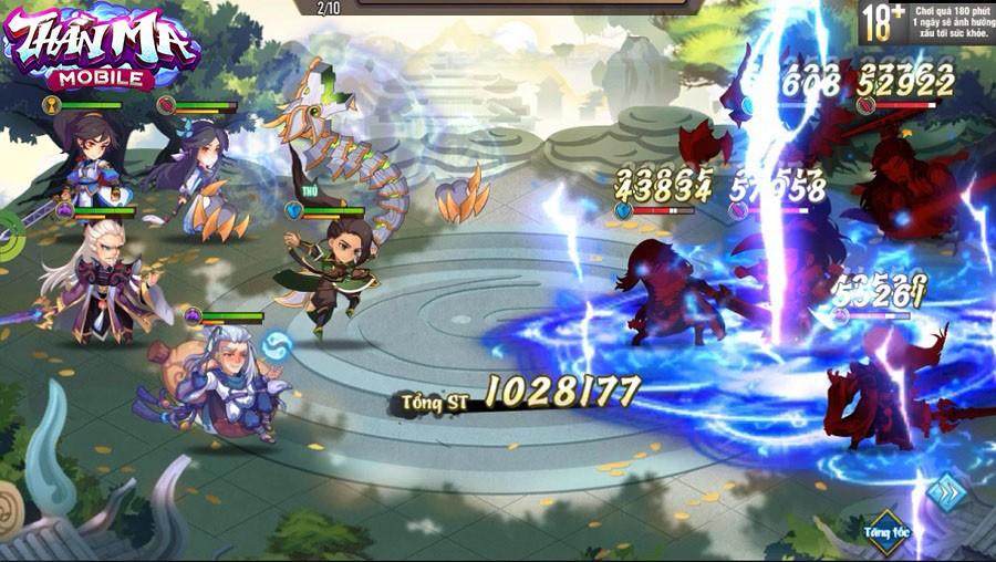 Không hổ danh game thẻ tướng tiên hiệp hoàn mỹ, Thần Ma Mobile cho phép người chơi di chuyển tự do khắp bản đồ - Ảnh 7.