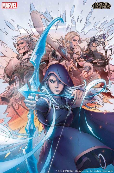 Tin cực vui cho tín đồ LMHT: Siêu phẩm truyện tranh của Marvel và Riot sẽ đến tay game thủ ngay đầu tháng 5 này - Ảnh 1.
