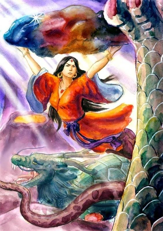Sự thật về Nữ Oa: Chỉ vì cơn giận dữ mà khuấy động cuộc chiến Phong Thần, chấn động khắp Tam Giới - Ảnh 2.