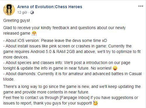 Trải nghiệm Arena of Evolution: Chess Heroes Game Auto Chess đối kháng trên mobile vừa ra mắt! - Ảnh 5.
