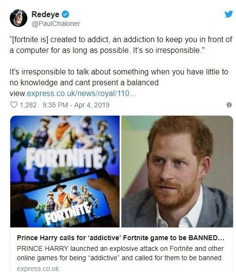 Hoàng tử Anh kêu gọi cấm Fortnite vĩnh viễn và cái kết đắng lòng - Ảnh 3.