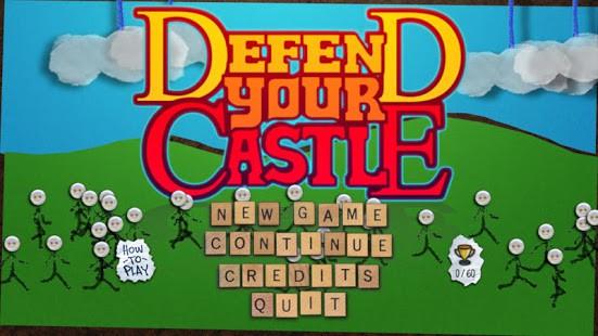 Defend Your Castle - Tựa game cực hay cho những ai là fan cứng của người que - Ảnh 1.