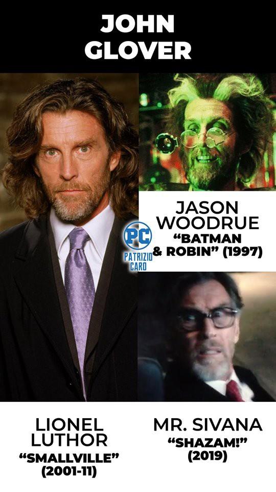 Có đến gần 40 diễn viên đã góp mặt trong vũ trụ siêu anh hùng DC tới hơn 2 lần ở các vai diễn khác nhau - Ảnh 5.