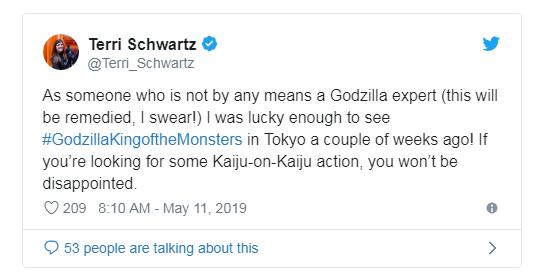 Phản ứng sớm về Godzilla: King of the Monster: Hoành tráng, dữ dội, chân thực đến sởn gai ốc - Ảnh 2.