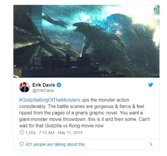 Phản ứng sớm về Godzilla: King of the Monster: Hoành tráng, dữ dội, chân thực đến sởn gai ốc - Ảnh 3.