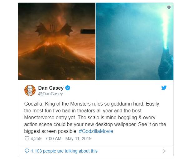 Phản ứng sớm về Godzilla: King of the Monster: Hoành tráng, dữ dội, chân thực đến sởn gai ốc - Ảnh 4.