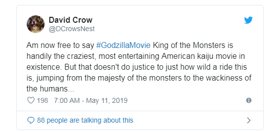 Phản ứng sớm về Godzilla: King of the Monster: Hoành tráng, dữ dội, chân thực đến sởn gai ốc - Ảnh 6.