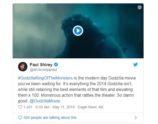 Phản ứng sớm về Godzilla: King of the Monster: Hoành tráng, dữ dội, chân thực đến sởn gai ốc - Ảnh 7.