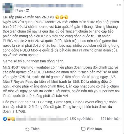 Quá nản, game thủ kêu gào đòi trả PUBG Mobile Việt Nam về với bản quốc tế - Ảnh 1.