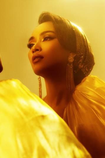 Lộng lẫy từ thần thái đến giọng hát, Ái Phương hóa thân xuất thần thành công chúa Jasmine của Aladdin bản lồng tiếng - Ảnh 3.