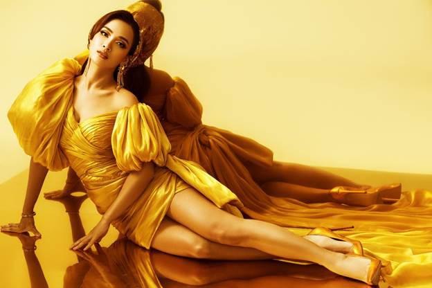 Lộng lẫy từ thần thái đến giọng hát, Ái Phương hóa thân xuất thần thành công chúa Jasmine của Aladdin bản lồng tiếng - Ảnh 5.