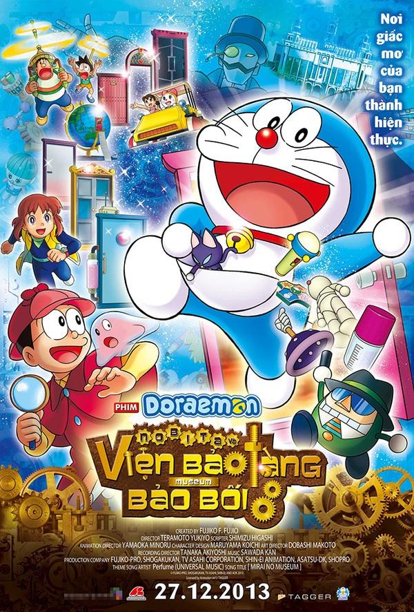 7 bộ phim tuyệt hay về chú mèo máy Doraemon mà fan cứng chắc chắn không thể bỏ qua - Ảnh 1.