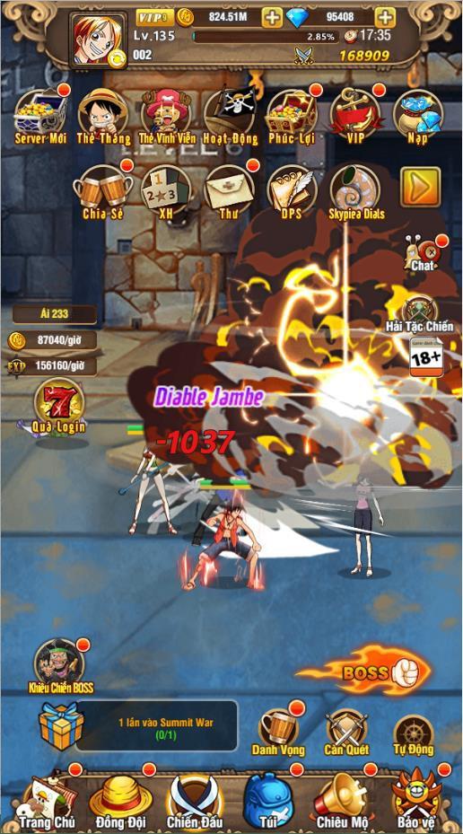 Trải nghiệm Vua Hải Tặc H5, tựa game One Piece đa nền tảng trong ngày đầu ra mắt tại Việt Nam - Ảnh 4.