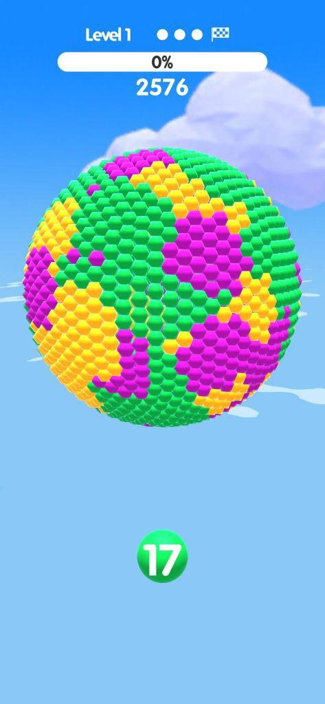 Ball Paint - Tựa game mobile siêu thư giãn xua tan ngày dài mệt mỏi - Ảnh 2.
