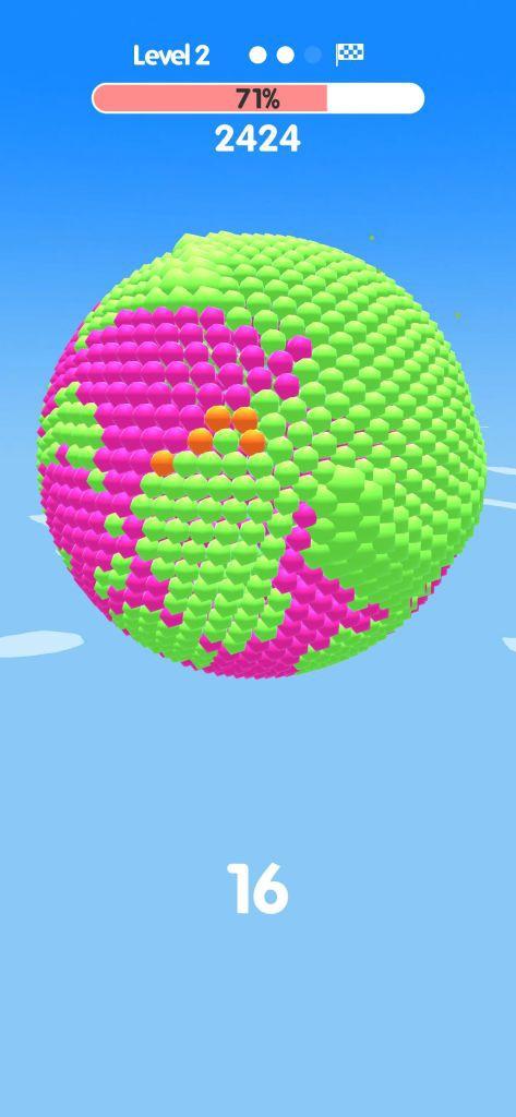 Ball Paint - Tựa game mobile siêu thư giãn xua tan ngày dài mệt mỏi - Ảnh 3.
