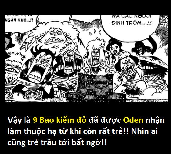 Góc soi mói One Piece 943: Cửu Hồng Bao thời trẻ trông khá trẩu tre, cái chết của Yasu đã khiến họ khóc hết nước mắt - Ảnh 1.