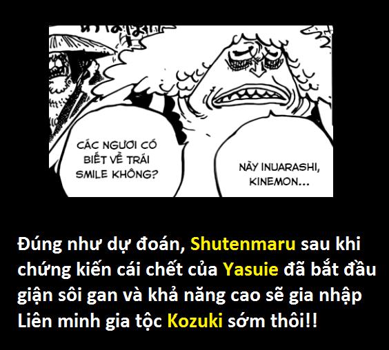 Góc soi mói One Piece 943: Cửu Hồng Bao thời trẻ trông khá trẩu tre, cái chết của Yasu đã khiến họ khóc hết nước mắt - Ảnh 6.
