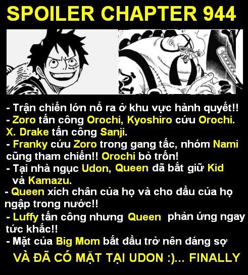 Spoiler One Piece 944: Luffy tấn công Queen Dịch Bệnh... Big Mom thì sắp phát điên - Ảnh 1.