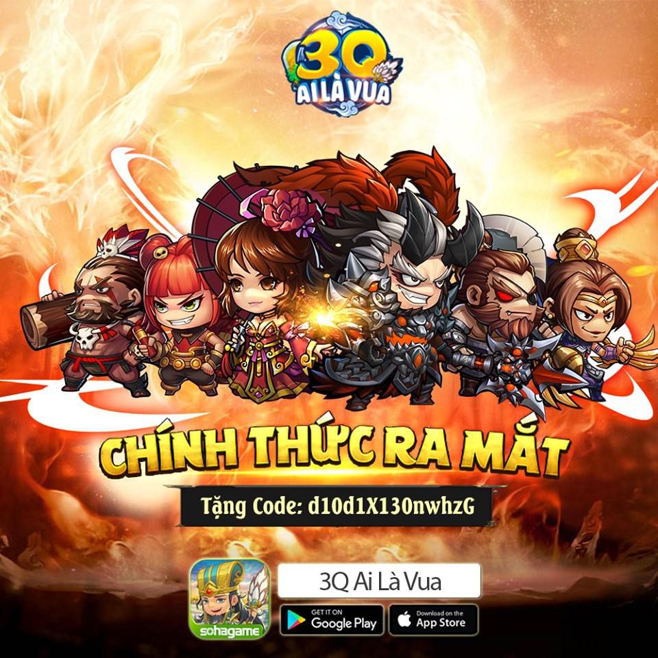 Đấu trường HOT nhất cho fan chiến thuật - 3Q Ai Là Vua chính thức ra mắt, tặng 2000 Giftcode - Ảnh 1.