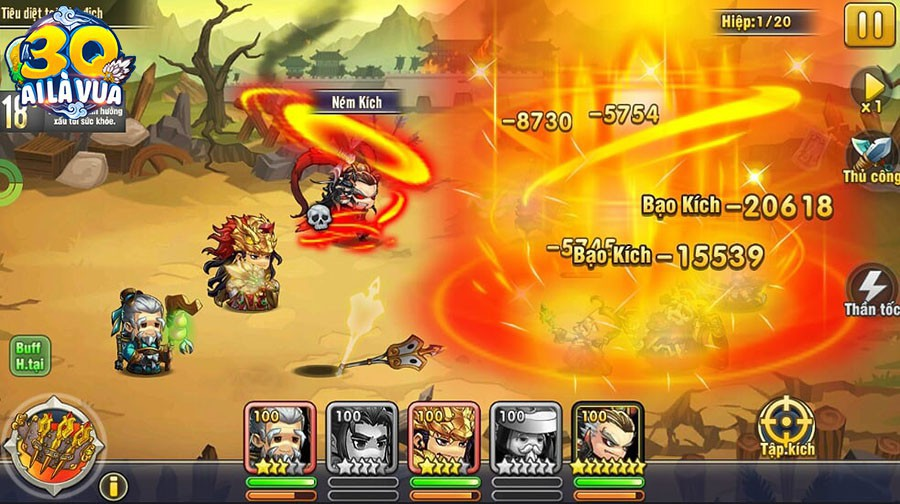 Đấu trường HOT nhất cho fan chiến thuật - 3Q Ai Là Vua chính thức ra mắt, tặng 2000 Giftcode - Ảnh 3.