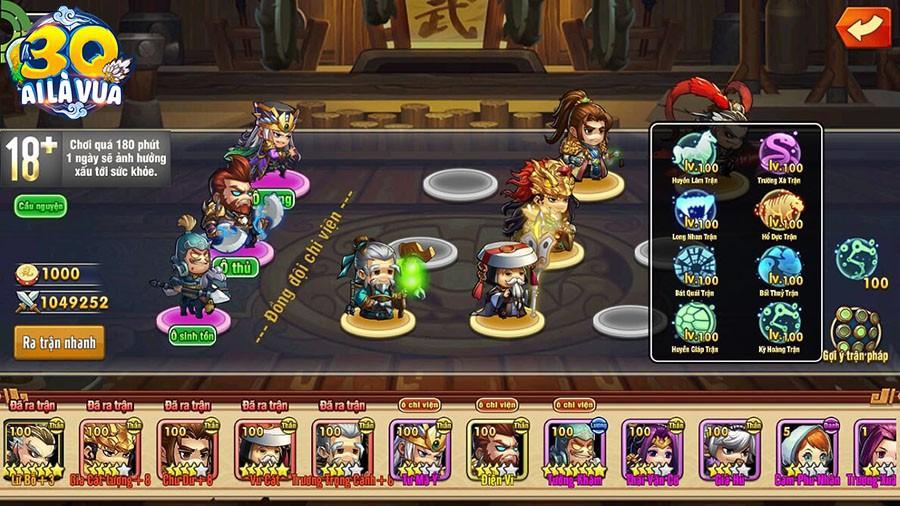 Đấu trường HOT nhất cho fan chiến thuật - 3Q Ai Là Vua chính thức ra mắt, tặng 2000 Giftcode - Ảnh 4.