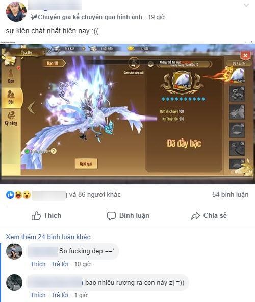 Update một cái, 500 anh em game thủ Thục Sơn Kỳ Hiệp Mobile đồng loạt khoe ảnh đèo gái max phê - Ảnh 8.